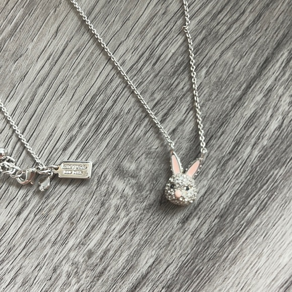 Kate spade bunny necklace